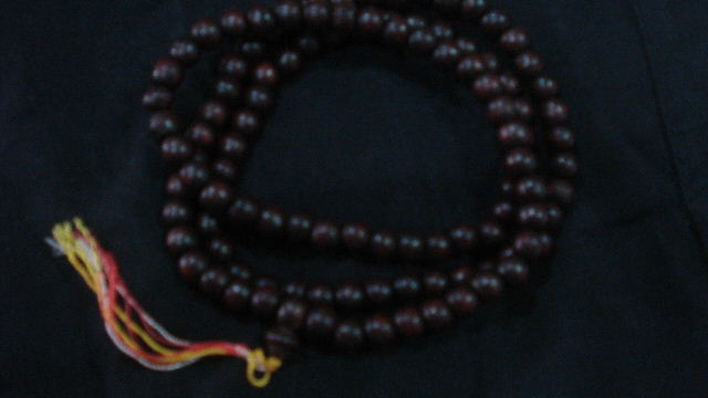 Buddhi Tree beads.