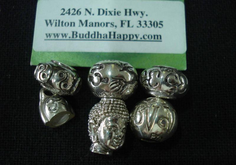 Handmade silver 925 beads by Buddha Happy