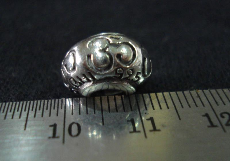 Om Jewel Lotus Silver 925 beads