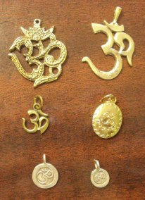 Om Silver & Bronze many sizes.