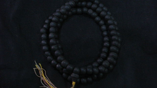 Ebony black bead.