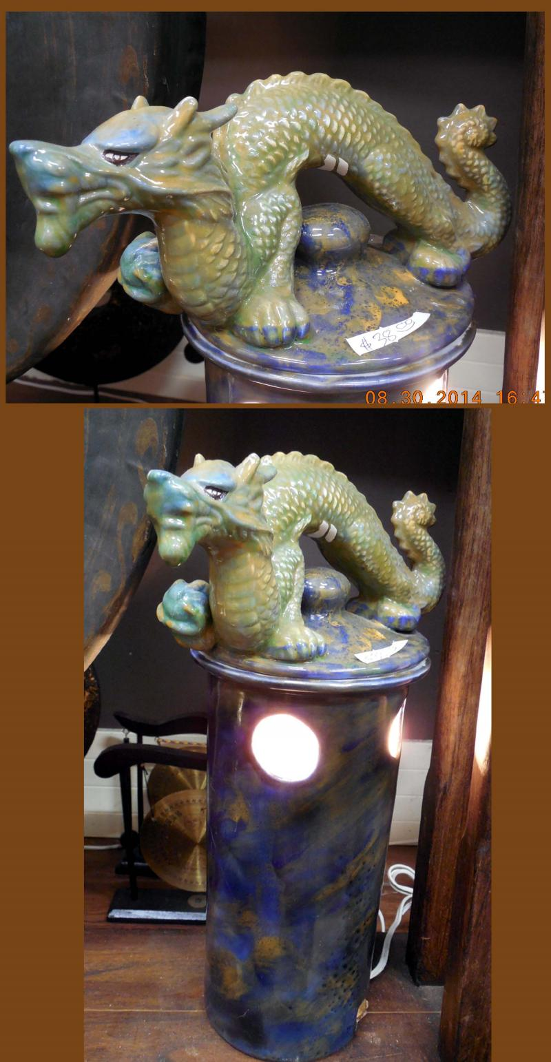 Blue &  Green Dragon Light