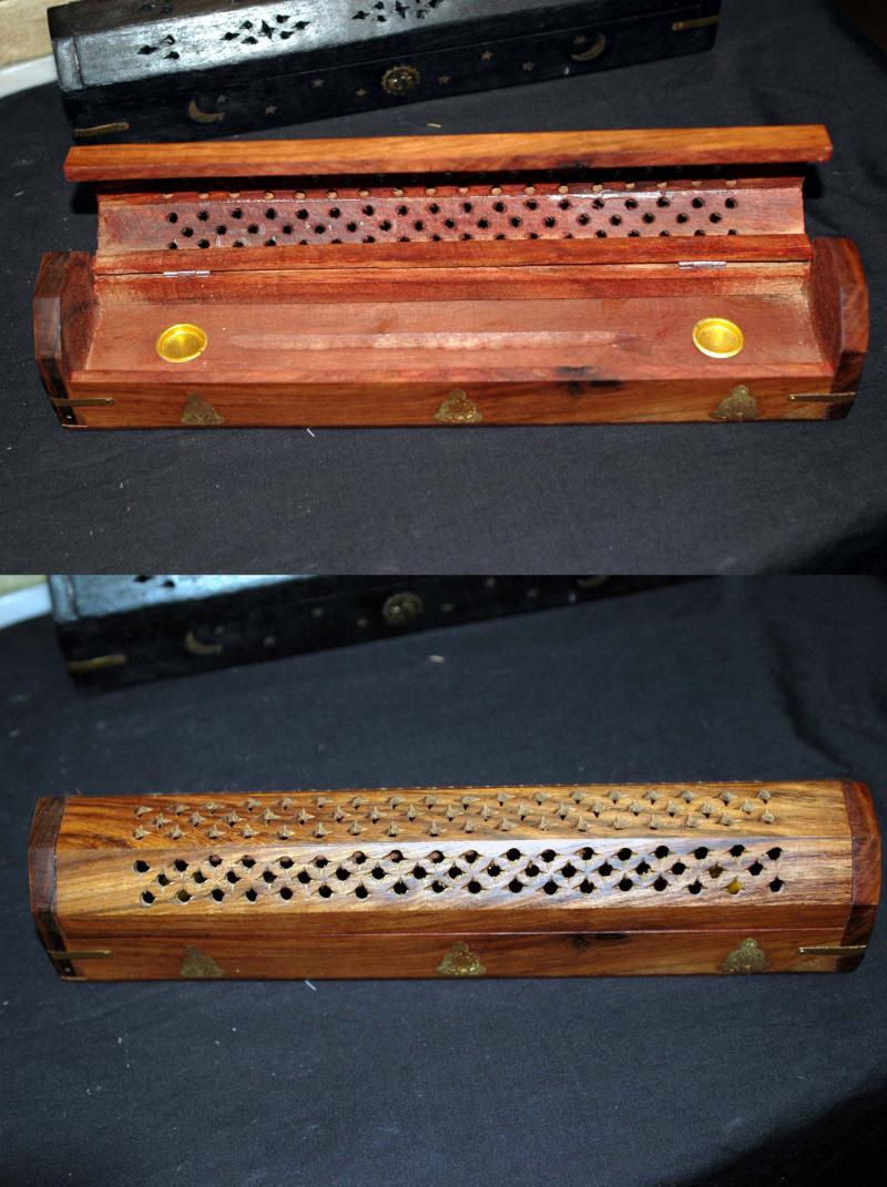 Wooden Incense Box